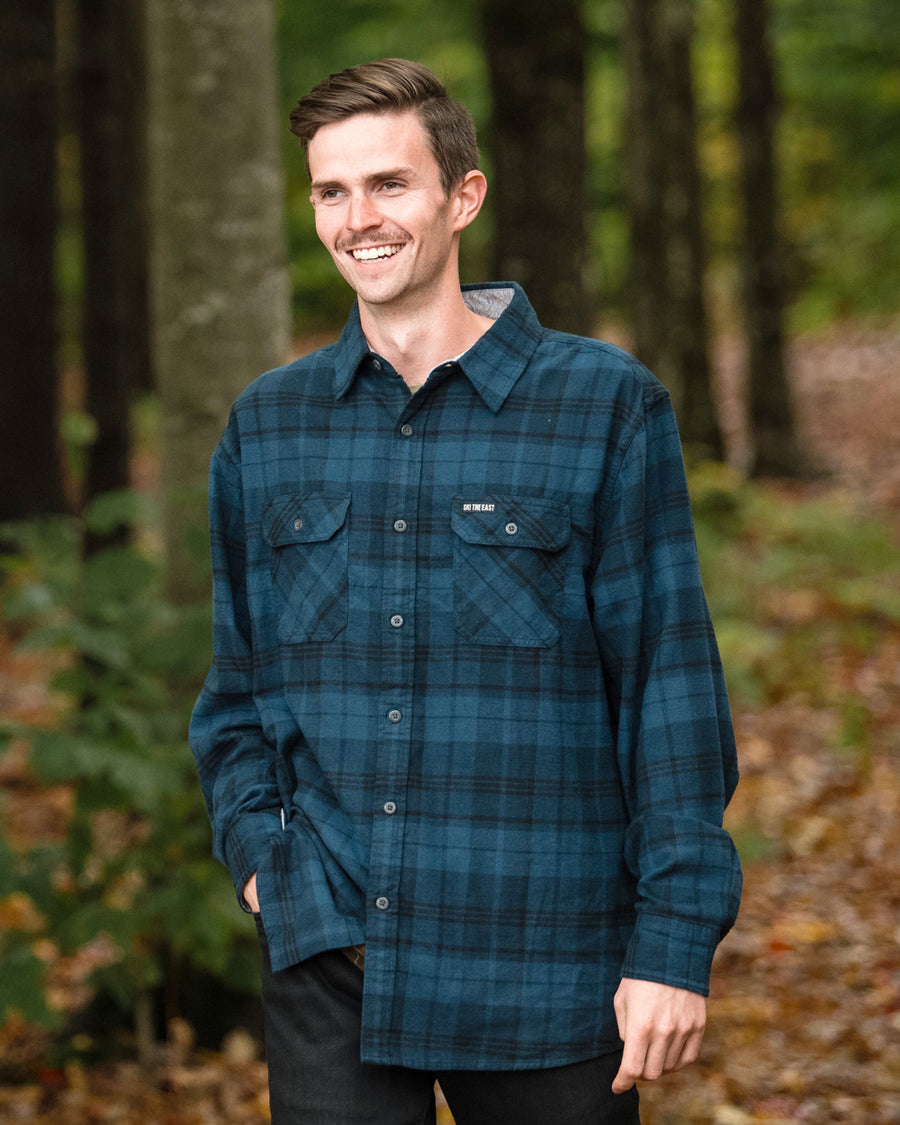 Savage Flannel - Navy