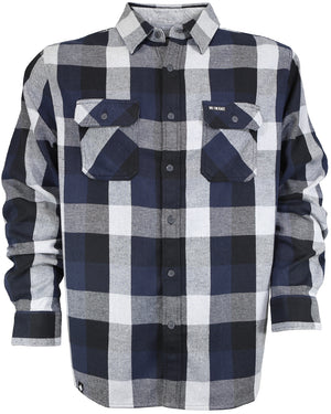 Savage Flannel - Storm Gray