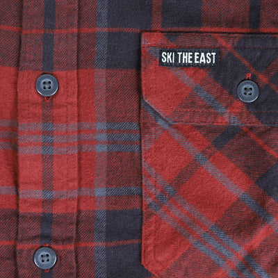 Savage Flannel - Barn Red
