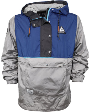 Gale Force Half Zip Windbreaker - Navy
