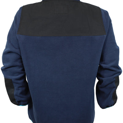 Low-Fi Snap Fleece - Navy