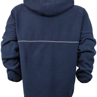Trekker Half Zip Hooded Fleece - Navy