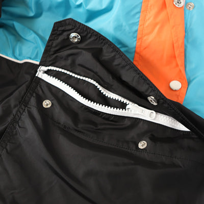 Gale Force Half Zip Windbreaker - Aqua