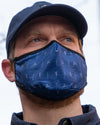 Adult Face Mask - Big Air Navy