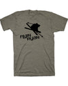Women's Flyin Ryan Logo Tee - Smoke
