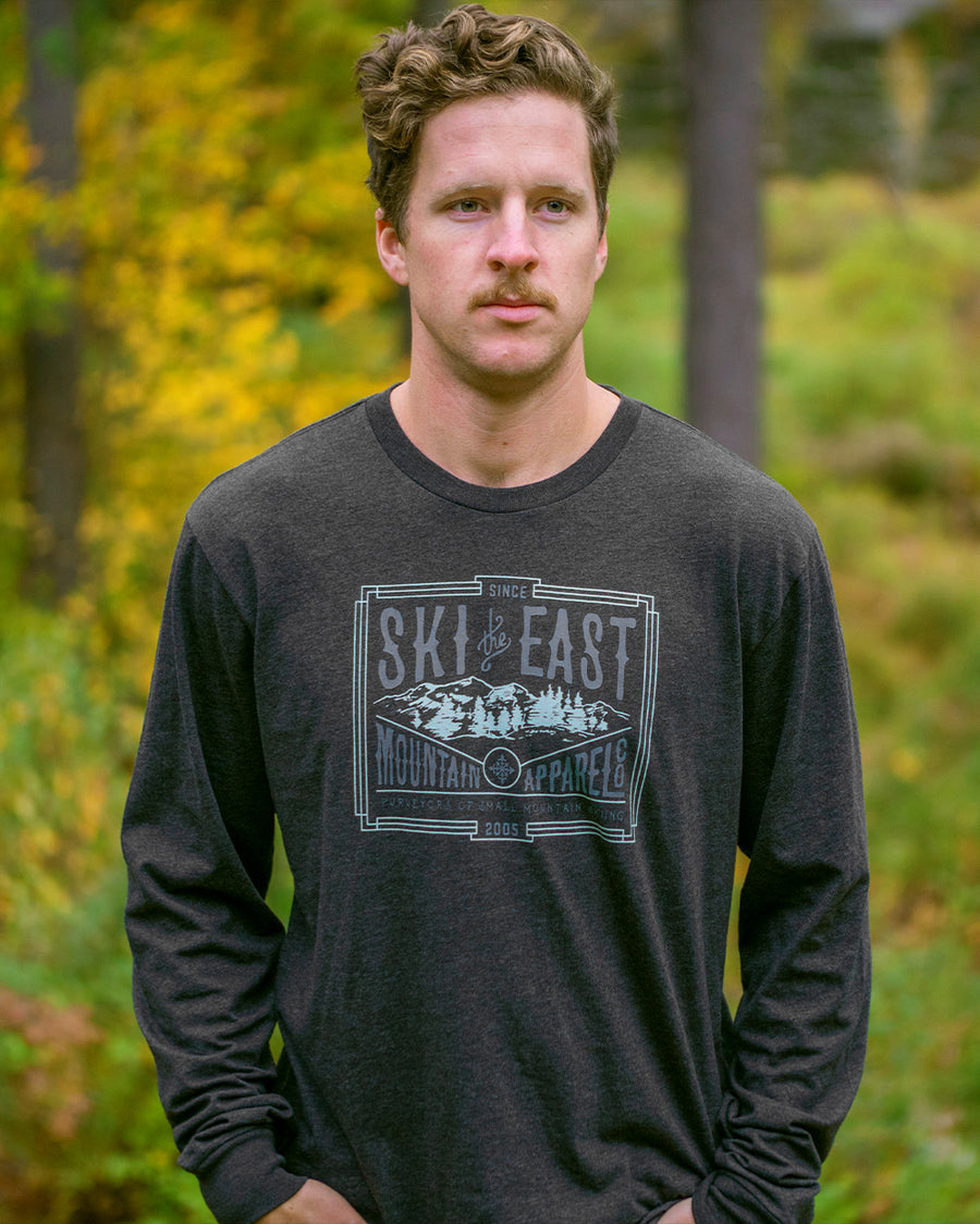 Small Mountain Longsleeve - Charcoal