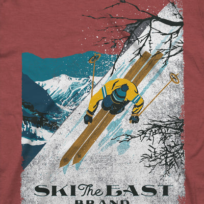 First Descent Tee - Cardinal