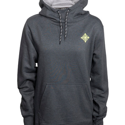 Women's Cascade Pullover Hoodie - Charcoal