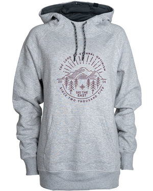 Women's Eternal Pullover Hoodie - Light Gray