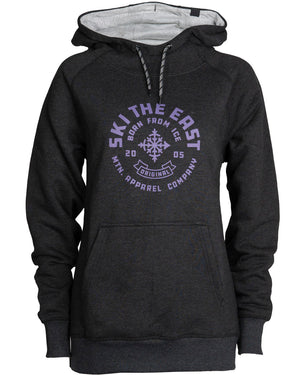 Women's Icon Pullover Hoodie - Vintage Black