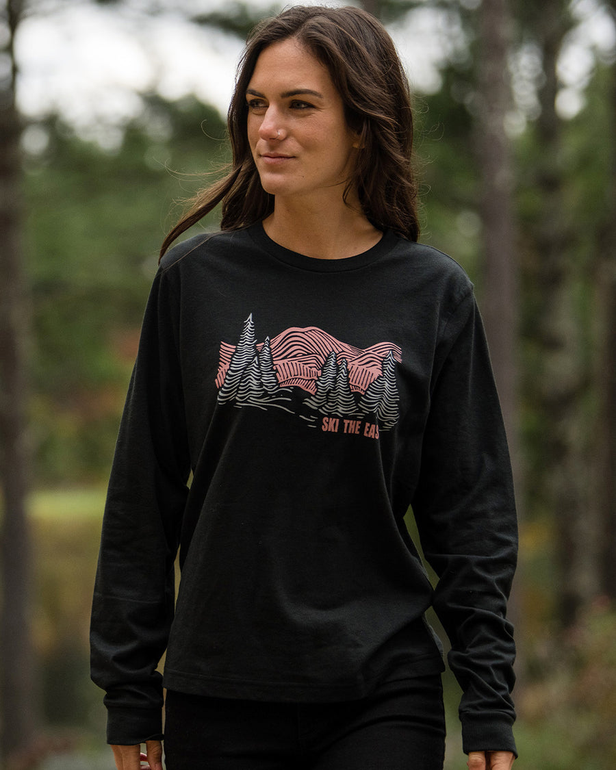 Women's Head For The Hills Longsleeve - Vintage Black