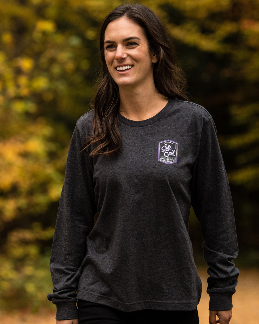 Women's Highlands Longsleeve - Charcoal