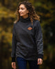 Women's Pinnacle Funnel Neck - Vintage Black