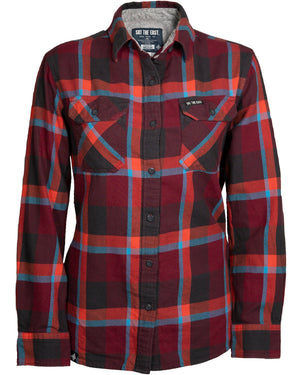 Women's Savage Flannel - Mountain Magma