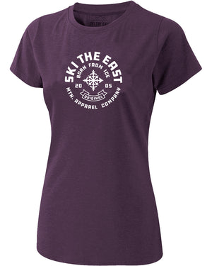 Women's Icon Tee - Plum