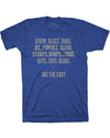 Youth Dedicated Tee - Royal