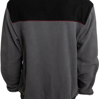 Backwoods Fleece Crew - Charcoal/Black