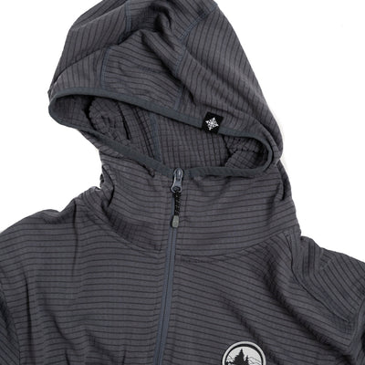 Lynx Half Zip Tech Fleece - Charcoal