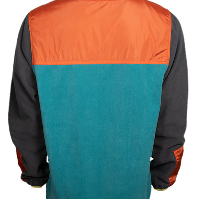 Low-Fi Snap Fleece - Fire & Ice