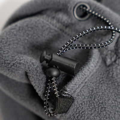 Trekker Half Zip Hooded Fleece - Charcoal/Navy