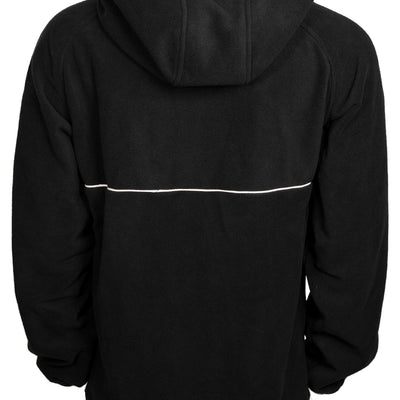 Trekker Half Zip Hooded Fleece - Black