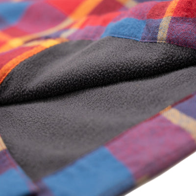 Woodbury Fleece Lined Flannel - Summit Sun