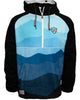 Trekker Half Zip Hooded Fleece - Faded Alpine