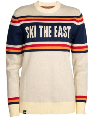 Women's Tailgater Shredder Sweater - Cream