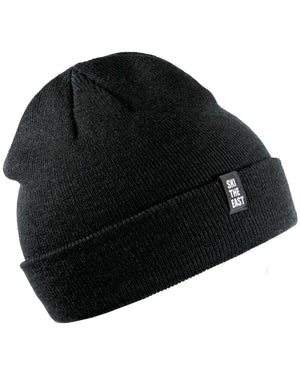 Double Down Beanie - Black