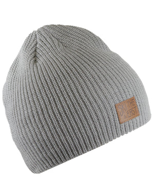 Camper Fleece Lined Beanie - Gray