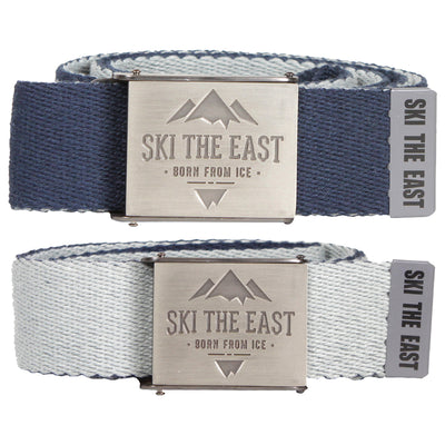 Ridgeline Canvas Belt - Reversible w/ Bottle Opener - Navy/Gray
