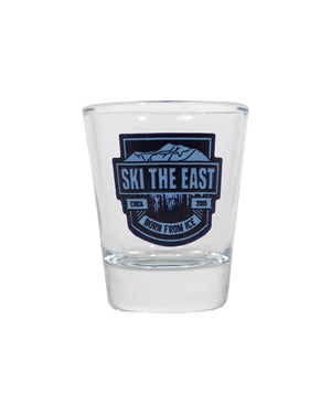 Born From Ice Shot Glass