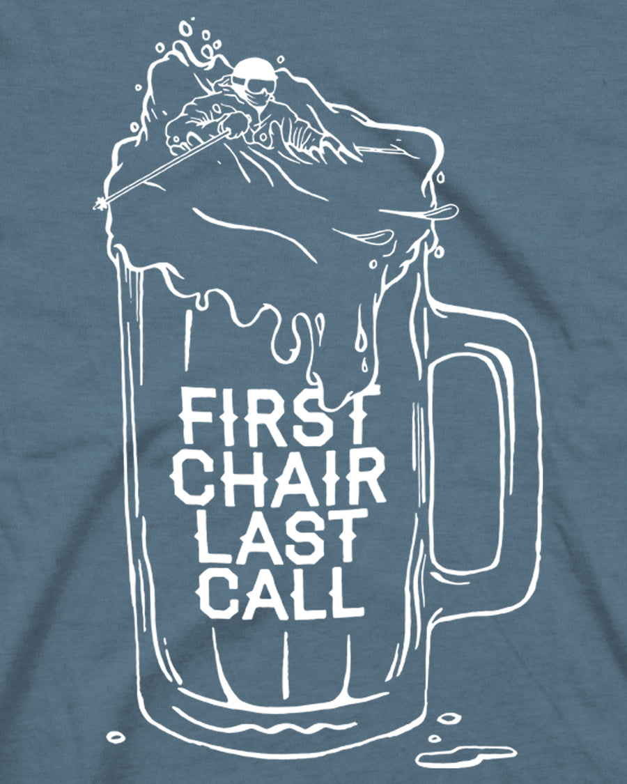 First Chair Last Call Tee - Indigo