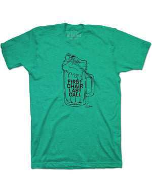 First Chair Last Call Tee - Lime