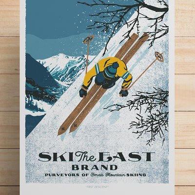 Limited Edition Print - First Descent