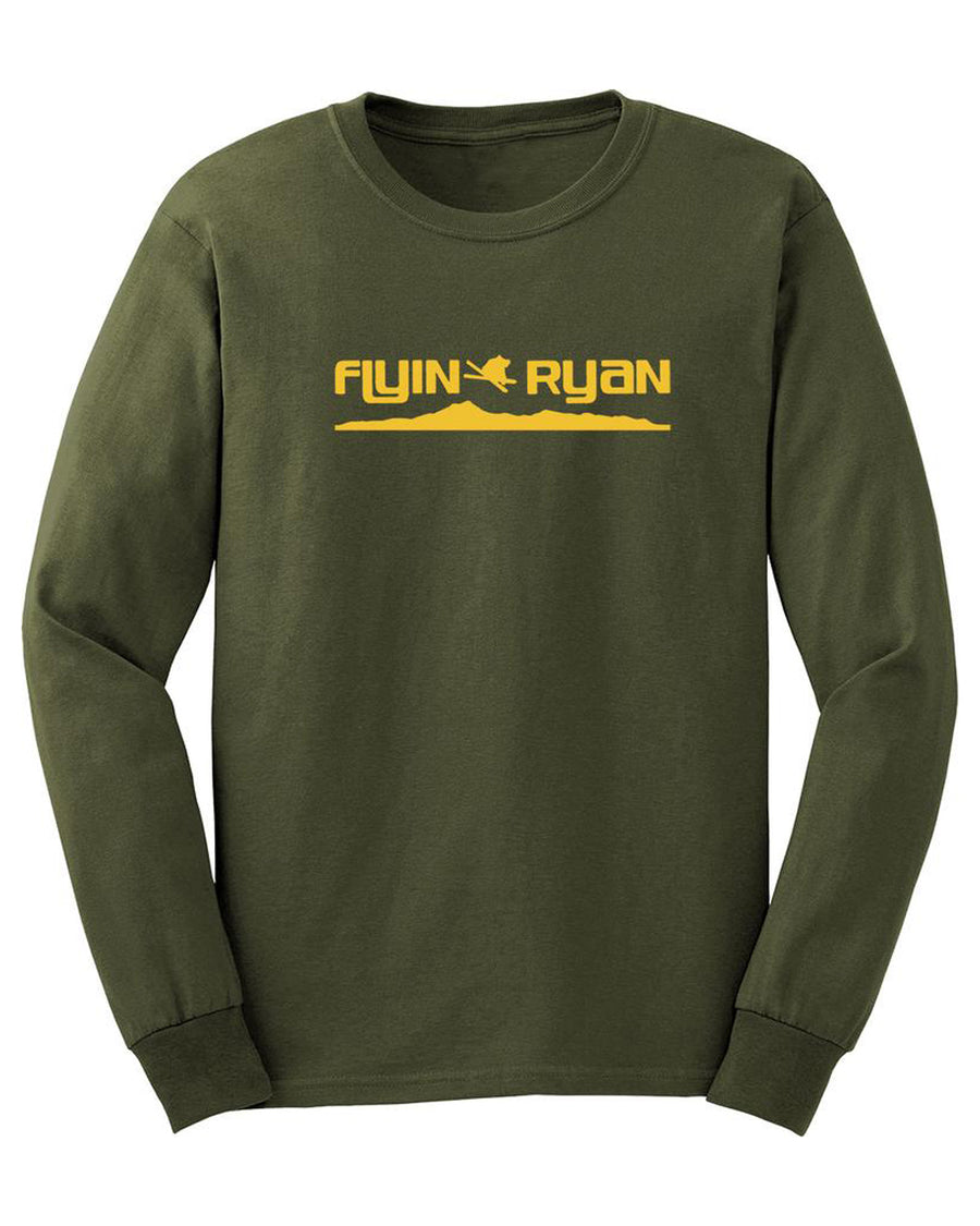 Flyin Ryan Ridge Longsleeve - Olive