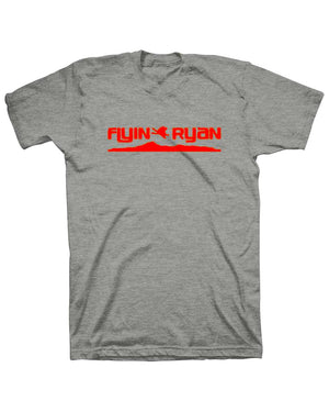 Flyin Ryan Ridge Tee - Heather Charcoal