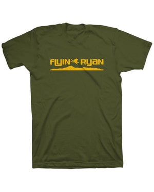 Flyin Ryan Ridge Tee - Olive