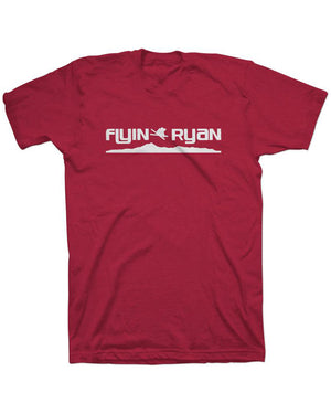 Flyin Ryan Ridge Tee - Barn Red