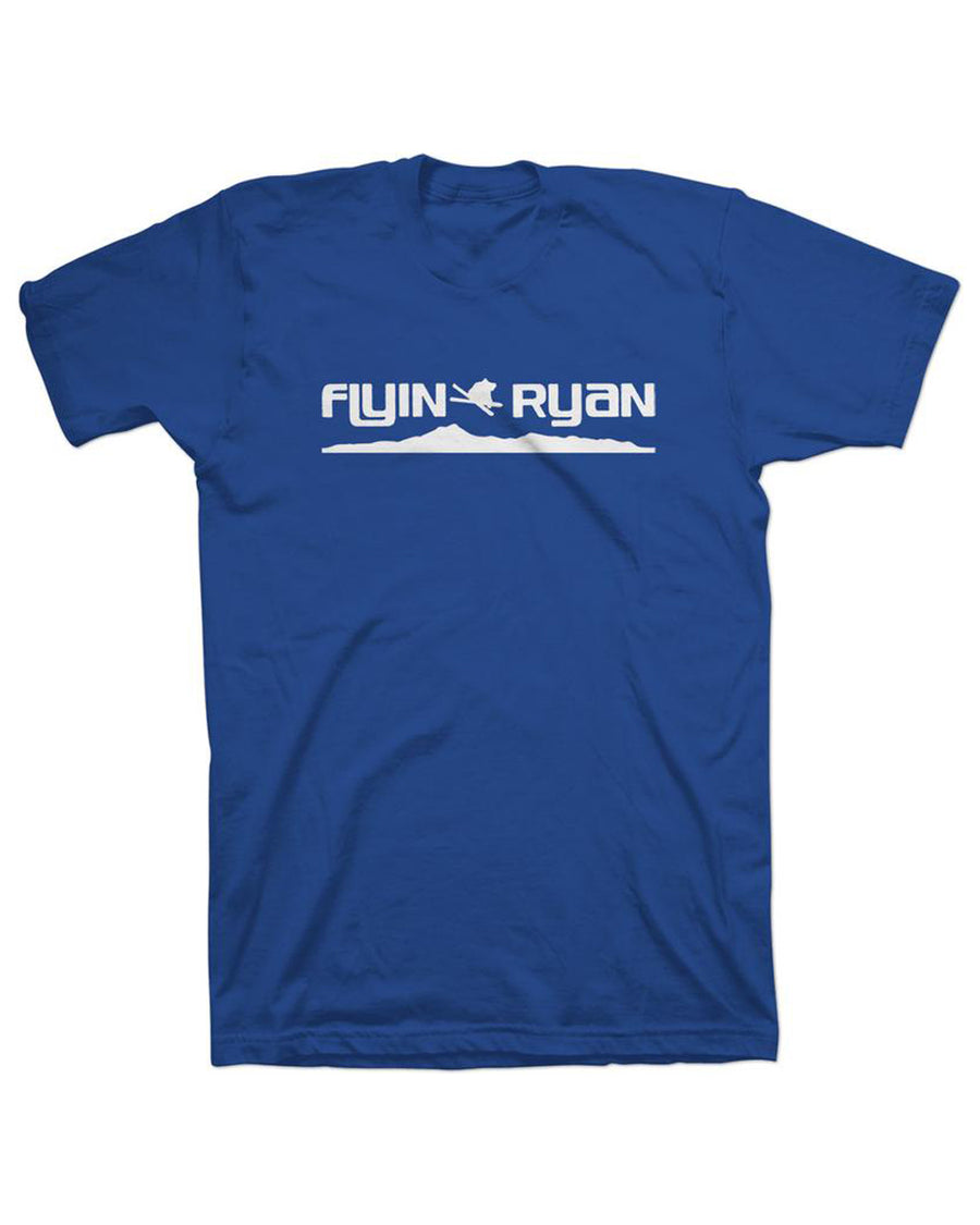 Flyin Ryan Ridge Tee - Royal Heather
