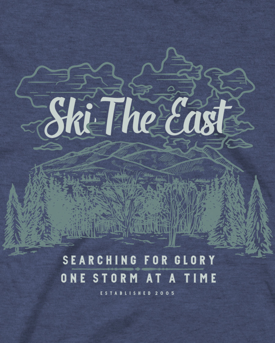 Glory Tee - Midnight Navy