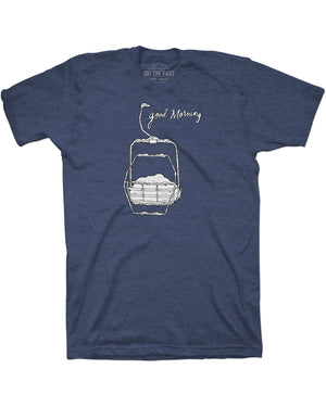 Youth Good Morning Tee - Midnight Navy