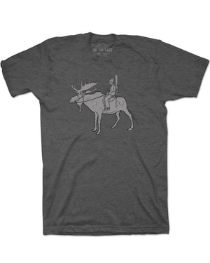 Powder Ranger Tee - Charcoal