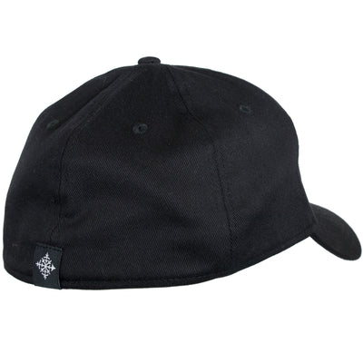 Alpenglow Stretch Fit Hat - Black