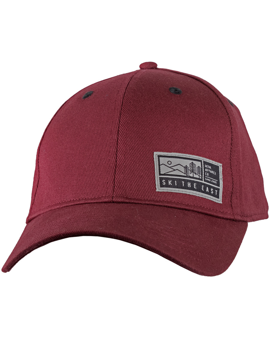 Alpenglow Stretch Fit Hat - Maroon 57d8eb71e30