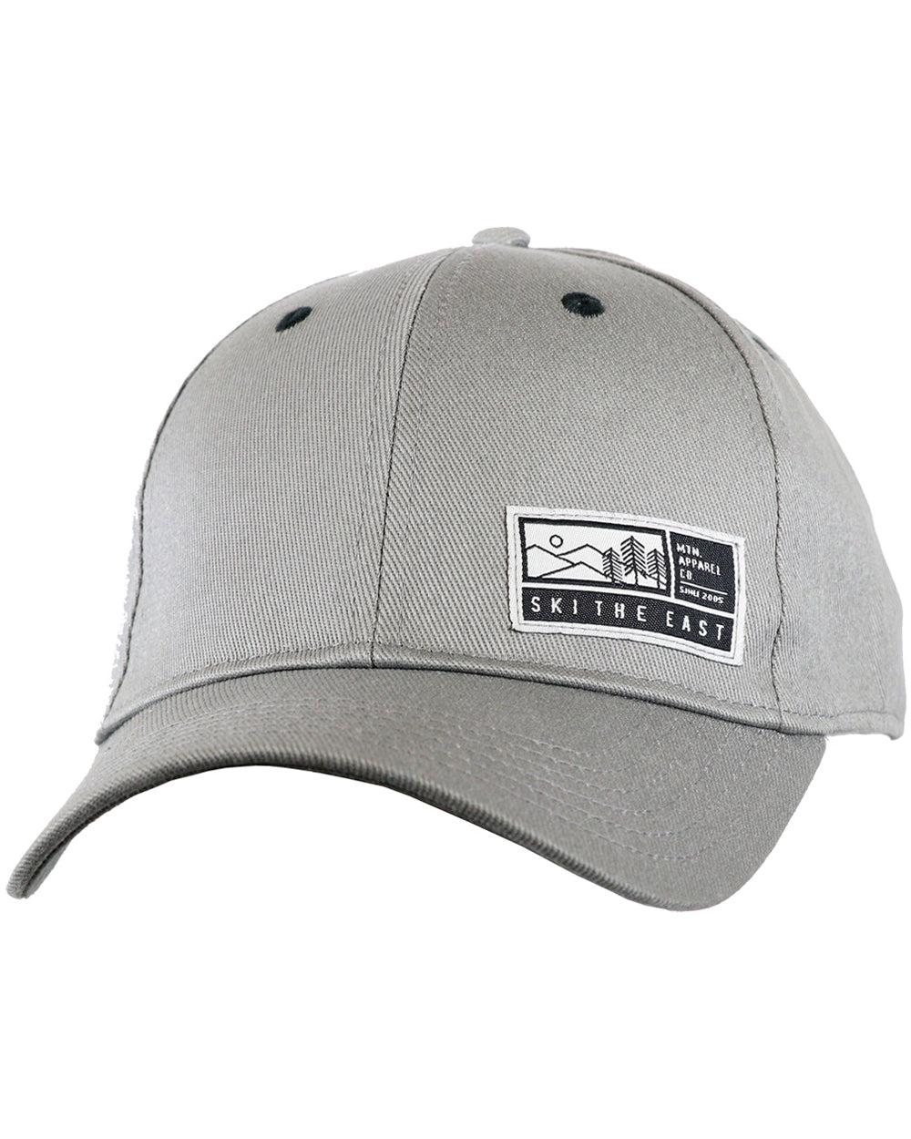 d67afa06a9f Alpenglow Stretch Fit Hat - Gray - Ski The East