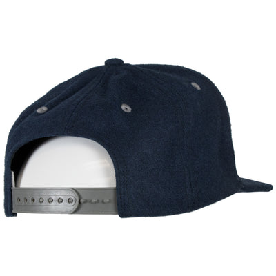 Loyalty Flatbrim Snapback Hat - Navy