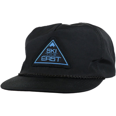 Summit Unstructured Nylon Hat - Black