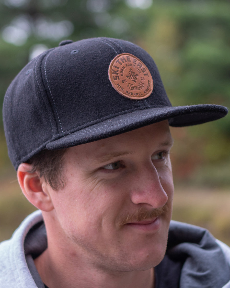 Icon Flatbrim Hat - Black