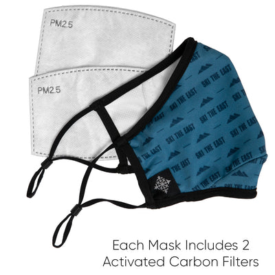 Adult Face Mask - Midnight Icon